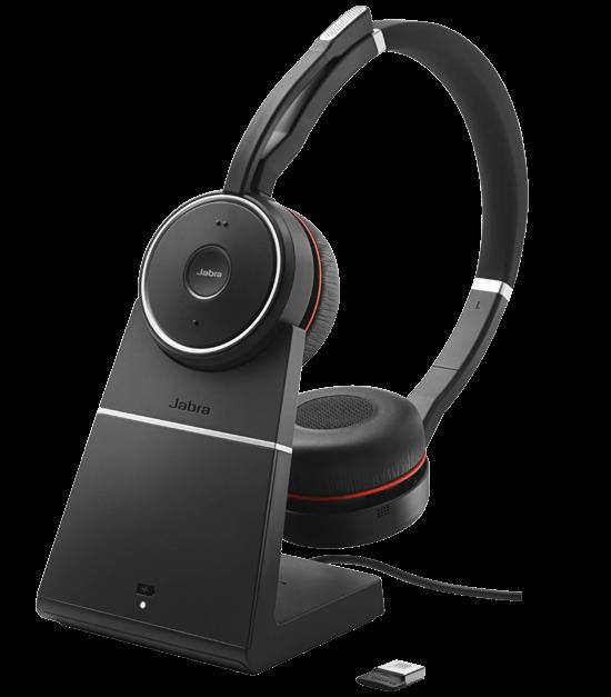 Jabra Evolve 75 Duo Wireless Headset Skype For Business: Review: Jabra Evolve 75 Headset